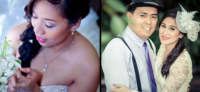 Real Brides Hair and Makeup by Make up By Marjorie
